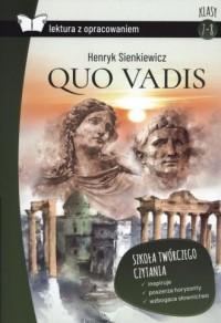 Quo vadis lektura z opracowaniem - okładka książki