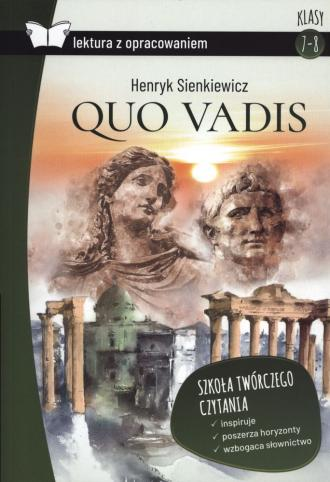 Quo Vadis (z opracowaniem) - okładka podręcznika
