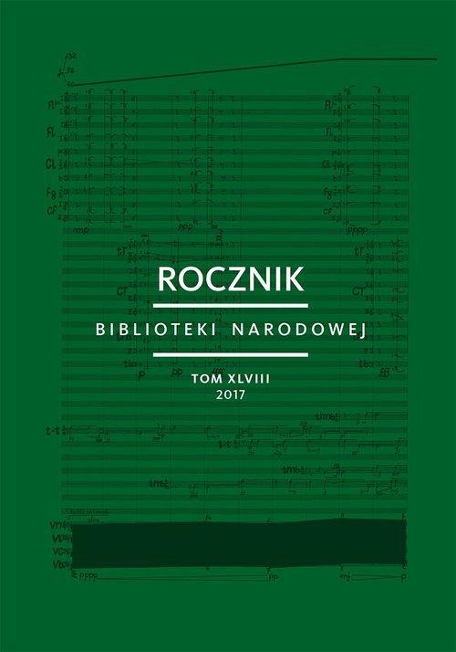 Rocznik Biblioteki Narodowej. Tom - okładka książki
