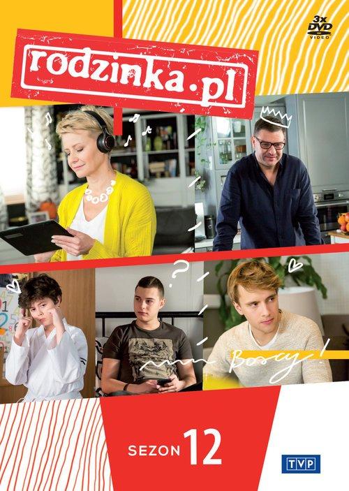Rodzinka.pl. Sezon 12 - okładka filmu