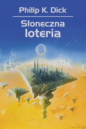 Słoneczna loteria - okładka książki