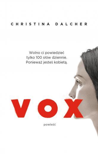 Vox - okładka książki
