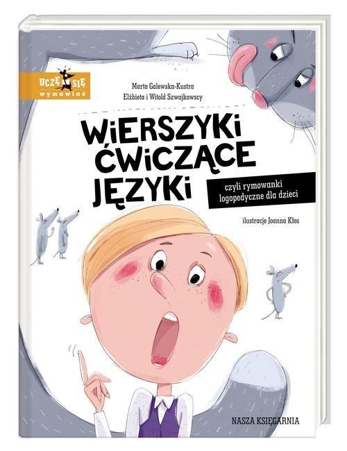 Wierszyki ćwiczące języki, czyli - okładka książki