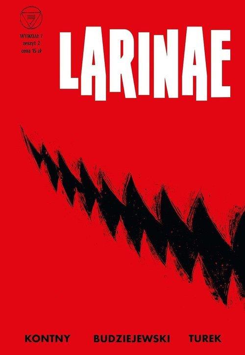Wydział 7. Tom 2. Larinae - okładka książki