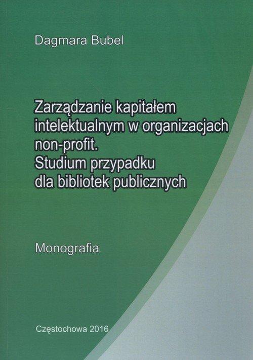 Zarzadzanie kapitałem intelektualnym - okładka książki