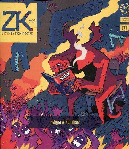 Zeszyty komiksowe nr 26. Religia - okładka książki
