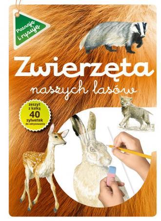 Zwierzęta naszych lasów. Zeszyt - okładka podręcznika