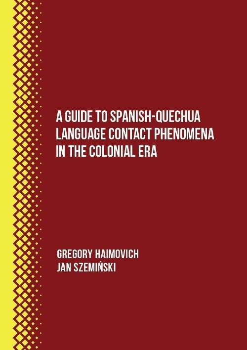 A Guide to Spanish-Quechua Language - okładka książki