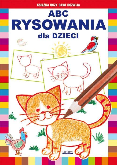 ABC rysowania dla dzieci - okładka książki