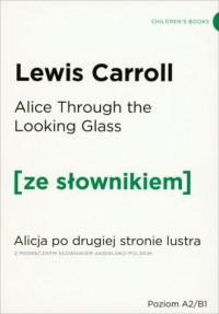 Alicja po drugiej stronie lustra - okładka książki
