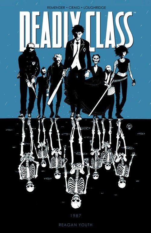 Deadly Class. Tom 1 - okładka książki