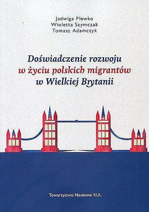 Doświadczenie rozwoju w życiu polskich - okładka książki