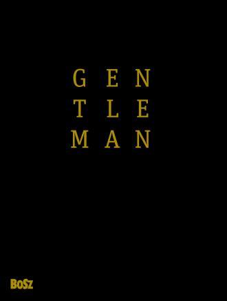 Gentleman. Mam zasady - okładka książki