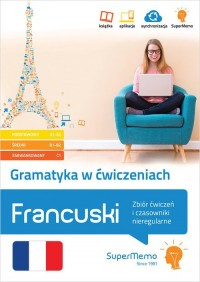 Gramatyka w ćwiczeniach. Francuski. - okładka podręcznika