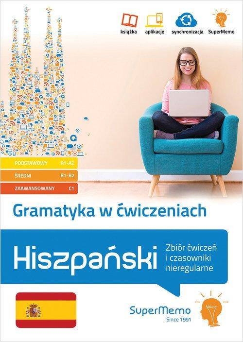 Gramatyka w ćwiczeniach. Hiszpański. - okładka podręcznika