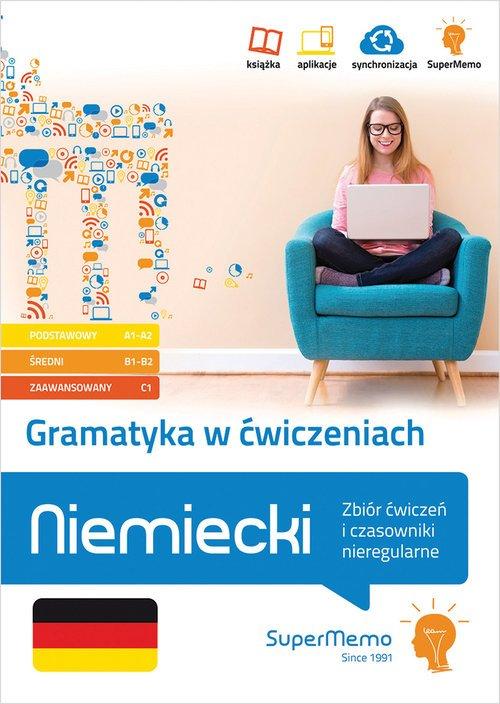 Gramatyka w ćwiczeniach. Niemiecki. - okładka podręcznika