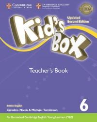 Kids Box 6. Teachers Book British English - okładka podręcznika