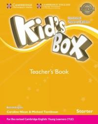 Kids Box. Starter Teachers Book British English - okładka podręcznika