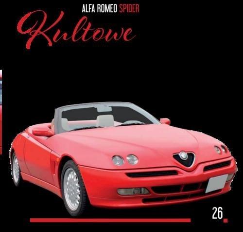 Kultowe Auta 26. Alfa Romeo Spider - okładka książki