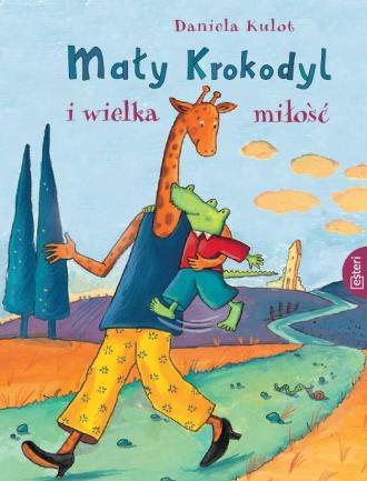 Mały Krokodyl i wielka miłość - okładka książki