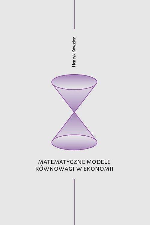 Matematyczne modele równowagi w - okładka książki
