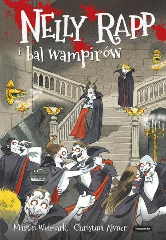 Nelly Rapp i bal wampirów - okładka książki