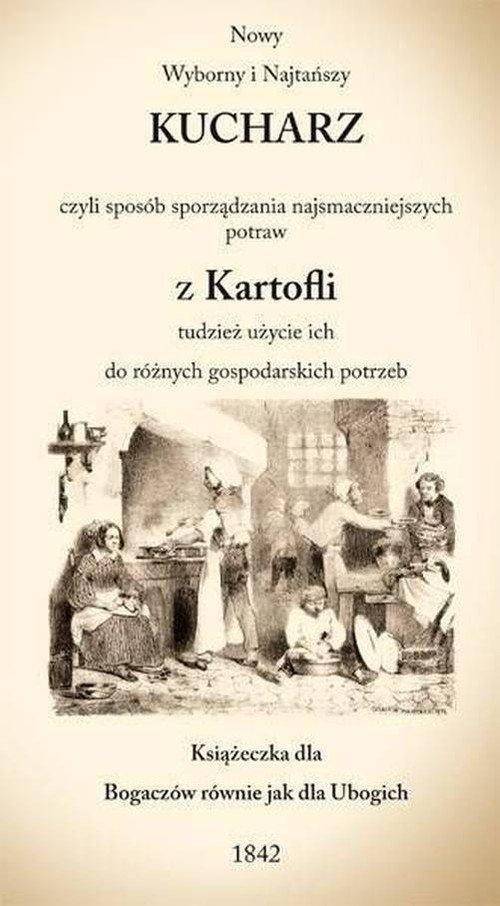 Nowy Wyborny i Najtańszy KUCHARZ - okładka książki