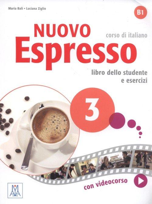 Nuovo Espresso 3. Corso di italiano - okładka podręcznika