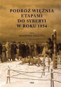 Podróż więźnia etapami do Syberyi - okładka książki