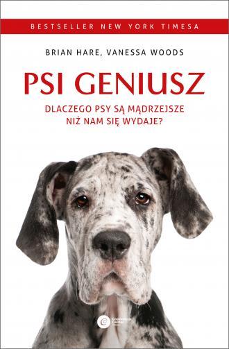 Psi geniusz. Dlaczego psy są mądrzejsze - okładka książki