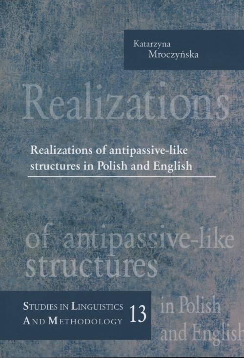 Realizations of antipassive-like - okładka książki