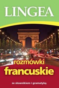 Rozmówki francuskie. ze słownikiem - okładka podręcznika