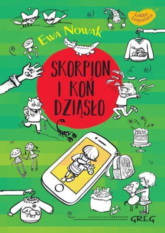 Skorpion i koń Dziąsło - okładka książki