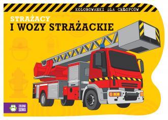 Strażacy i wozy strażackie - okładka książki