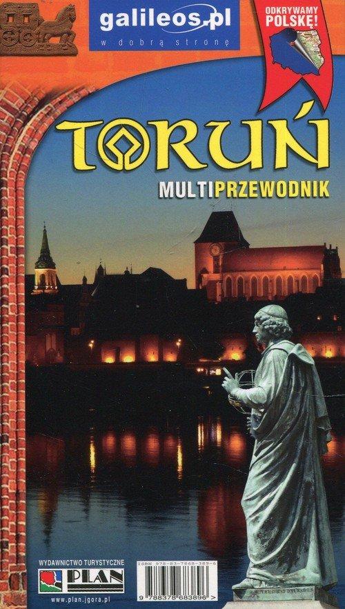 Toruń. Multiprzewodnik - okładka książki