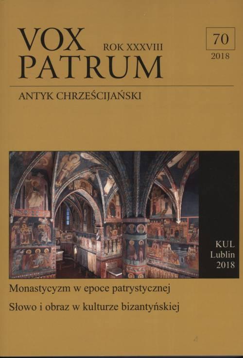 Vox Patrum. Tom 70 - okładka książki