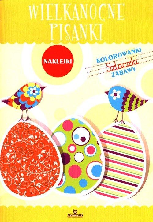 Wielkanocne pisanki - okładka książki