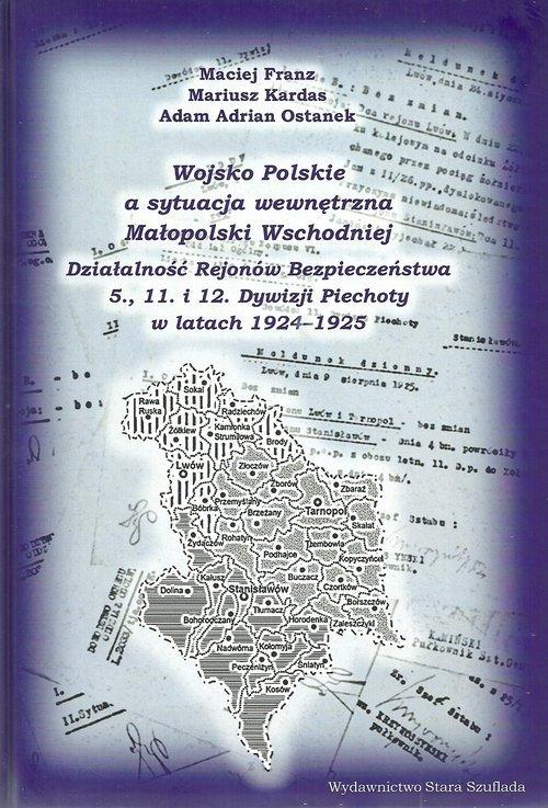Wojsko Polskie a sytuacja wewnętrzna - okładka książki