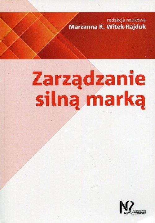 Zarządzanie silną marką - okładka książki