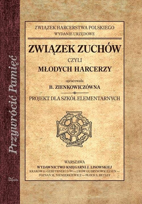 Związek zuchów czyli młodych harcerzy. - okładka książki