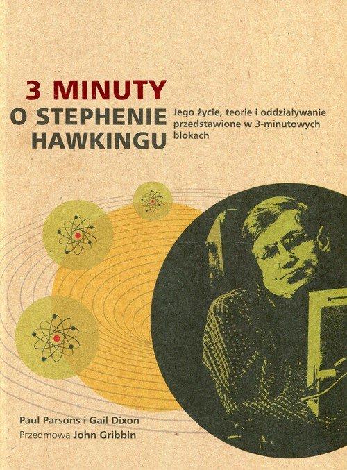 3 minuty o Stephenie Hawkingu - okładka książki