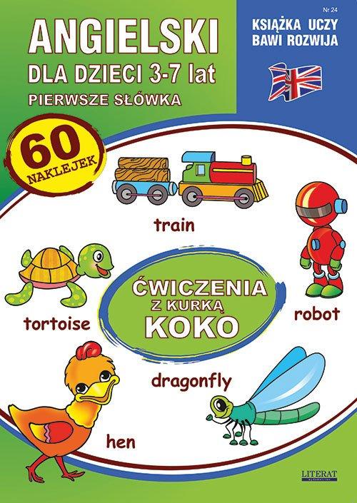 Angielski dla dzieci 24. Pierwsze - okładka podręcznika