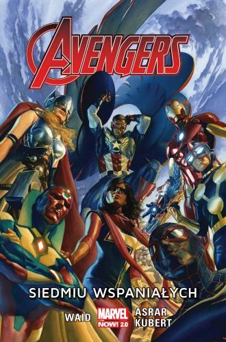 Avengers Siedmiu wspaniałych - okładka książki