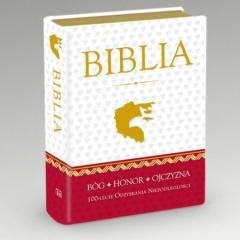 Biblia. 100 -lecie odzyskania Niepodległości - okładka książki