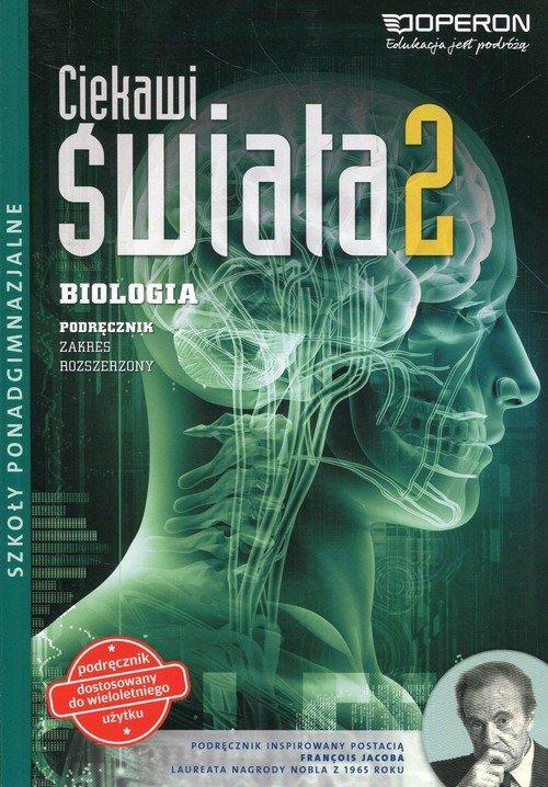 Biologia. LO 2. Ciekawi świata. - okładka podręcznika