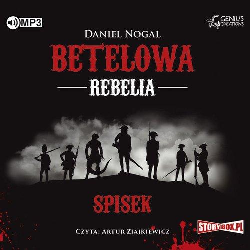 Betelowa rebelia. Spisek (CD mp3) - pudełko audiobooku