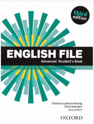 English File 3E Advanced Students - okładka podręcznika