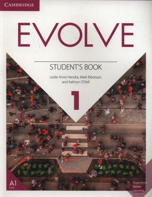 Evolve 1. Students Book - okładka podręcznika