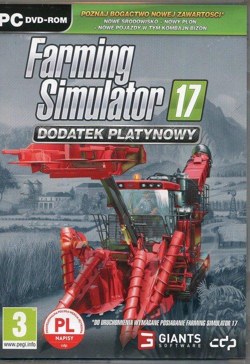 Farming Simulator 17 dodatek platynowy - zdjęcie zabawki, gry