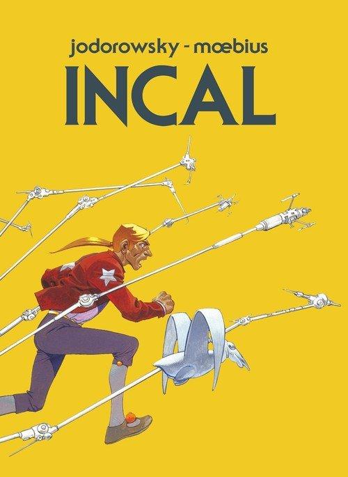 Incal oraz tajemnice Incala - okładka książki